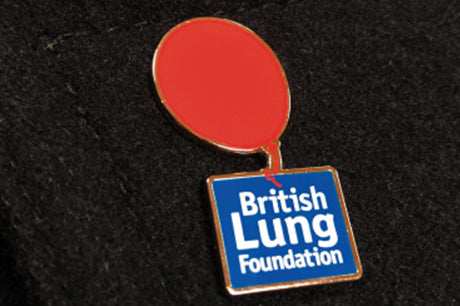 BLF logo pin badge