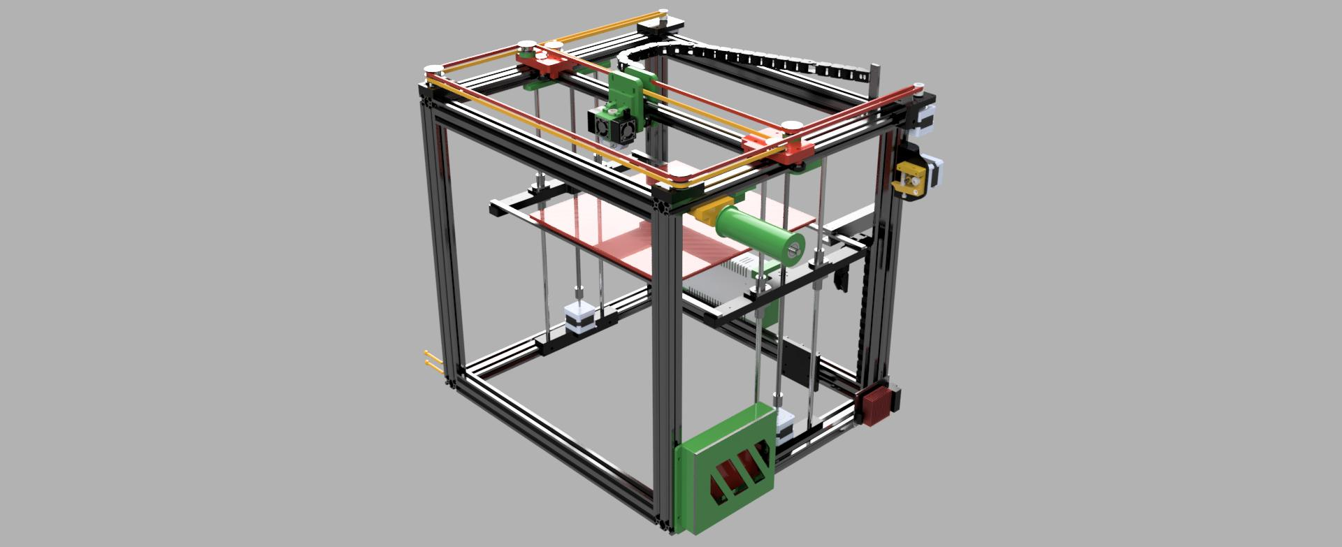 CORE XY 3D Printer - Overview – ReP_AL Maker Shop