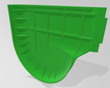 Mower Hood 3D Part - All Varients