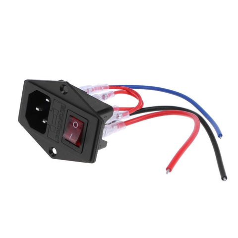 220V/110V 10A Fused Switch AC