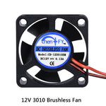 30x30x10MM 12V Fan - Direct Ship
