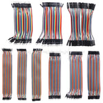 Arduino Jumper Wire 40pcs M-F/M-M/F-F - Direct Ship