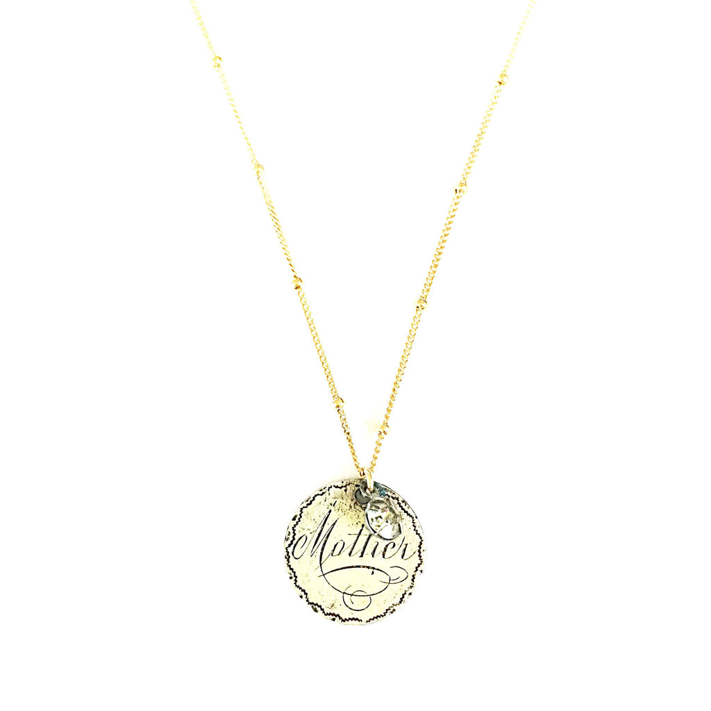 Mother Love Token Necklace