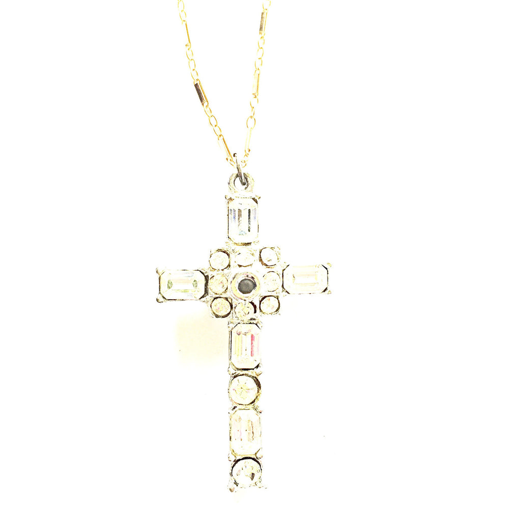 Sofia French Lord's Prayer Necklace