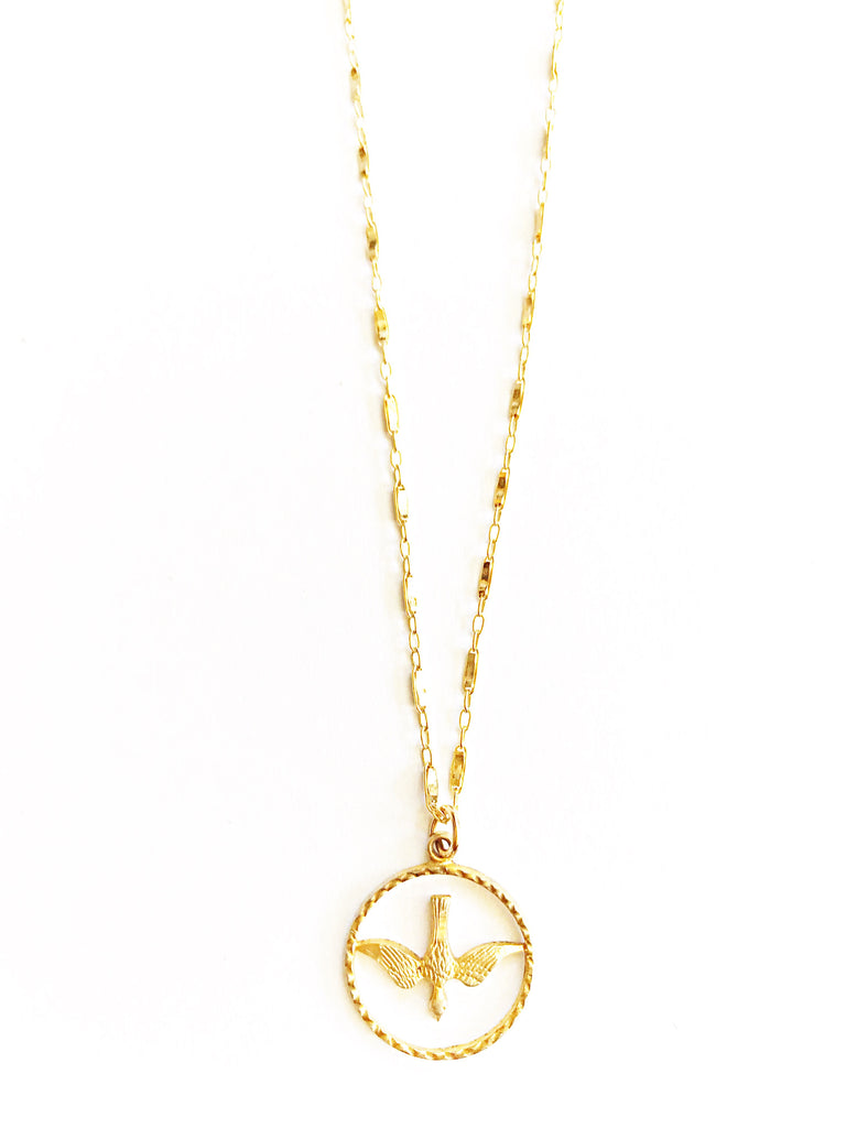 Golden Bird Necklace... Available 2/1
