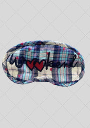 "Eye mask ""Weekend"" embroidery"