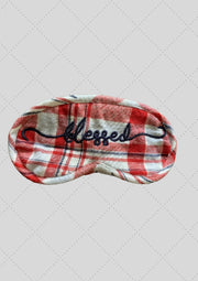 "Eye mask ""Blessed"" embroidery"