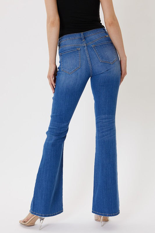 Foss High Rise Flare Denim | Kancan Brand