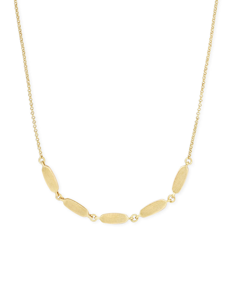 Fern Short Strand Necklace | Multiple Colors