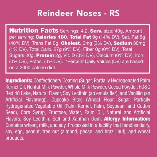 Reindeer Noses | Candy Club