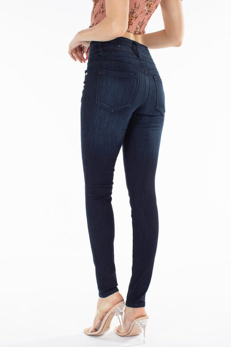 Jackie Dark Wash High Rise Denim  | KanCan Brand