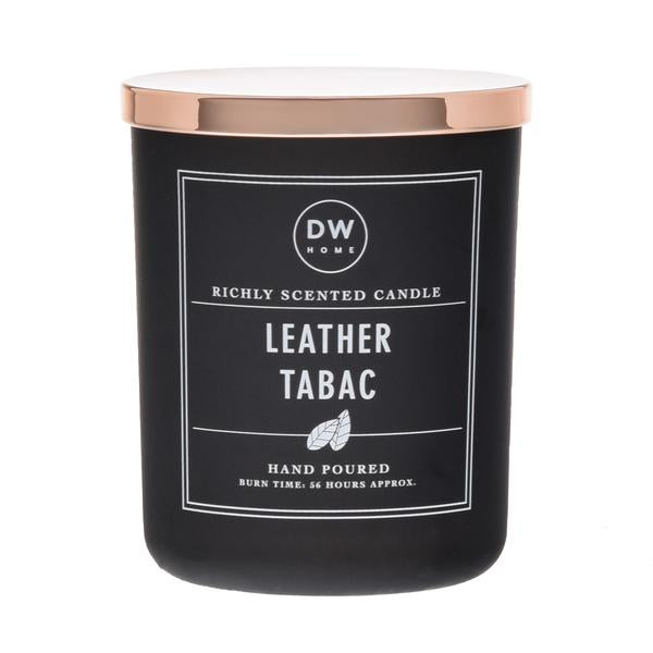 LEATHER TABAC | DW HOME CANDLE