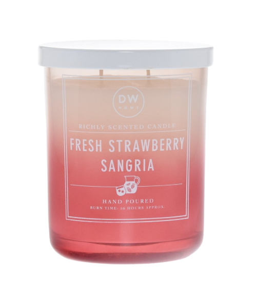 STRAWBERRY SANGRIA | DW HOME CANDLE