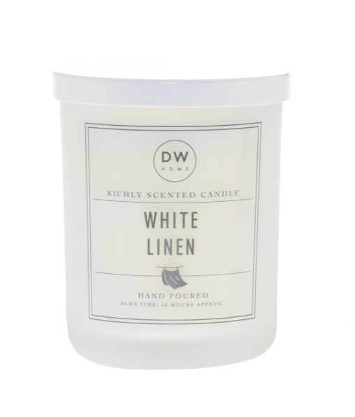 WHITE LINEN | DW HOME CANDLE
