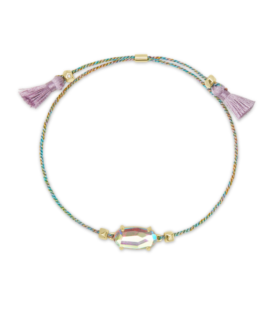 Everlyne Friendship Bracelet in  Dichroic