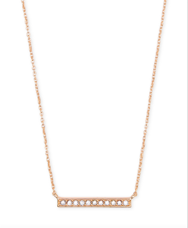 Addison Pendent Necklace | Multiple Colors