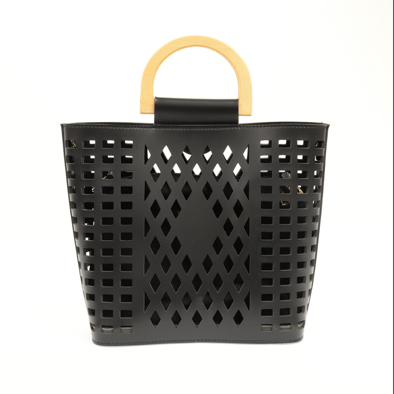 Madison Cut Out Tote | Multiple Colors