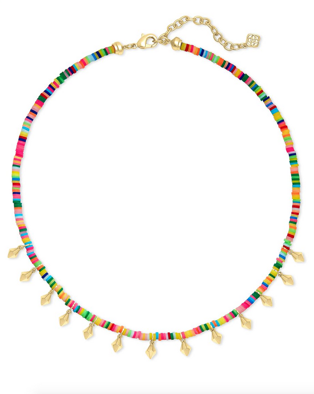 Reece Choker Necklace in Neon Mix