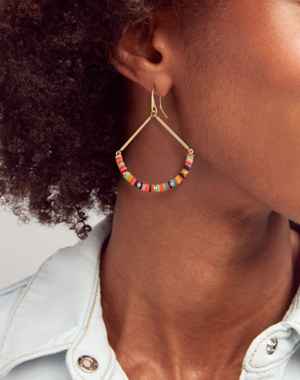 Reece Drop Earrings | Multiple Colors