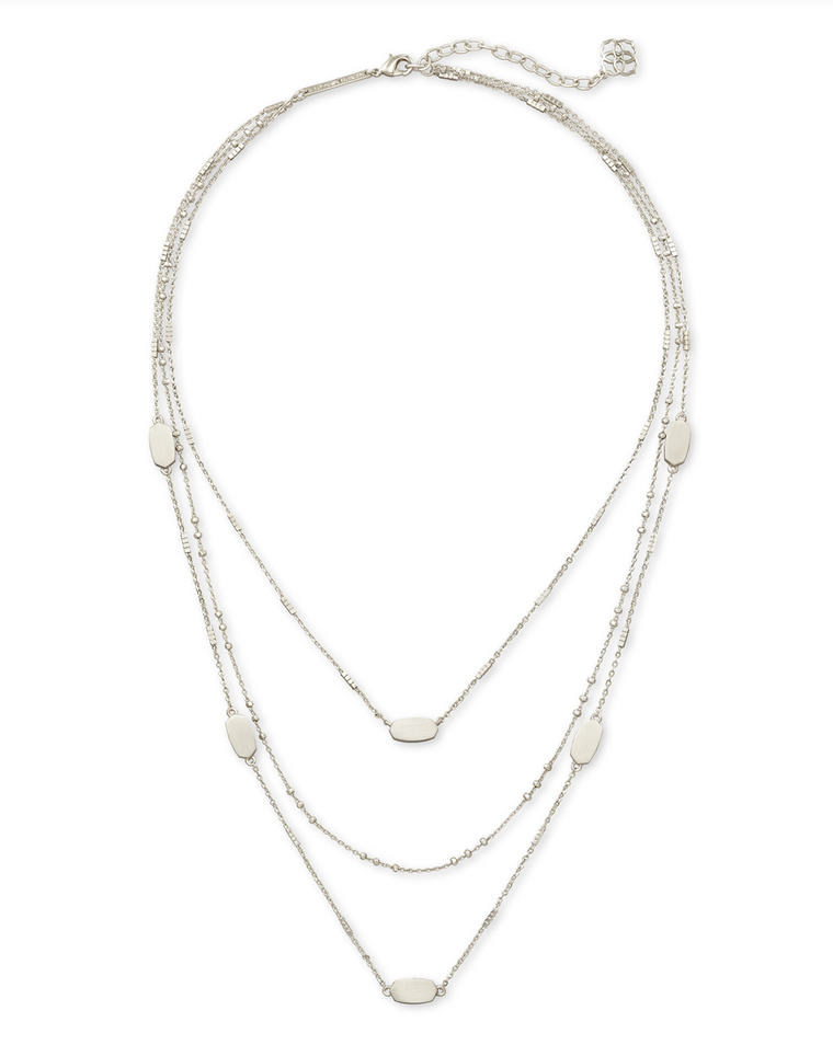 Fern Triple Strand Necklace | Multiple Strand