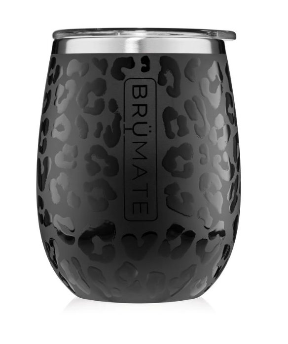 ONYX LEOPARD UNCORK'D XL 14oz Wine Glass |  BrÜmate