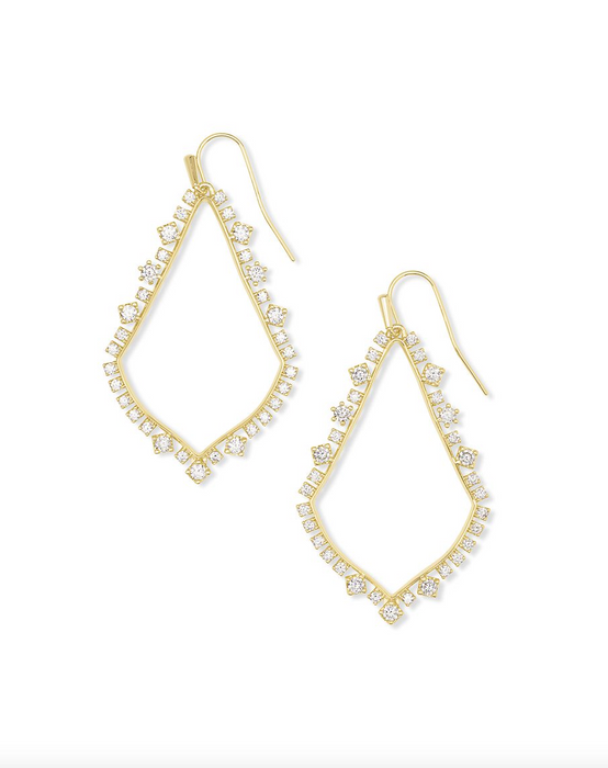 Sophee Crystal Drop Earrings | Multiple Colors