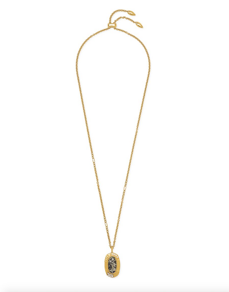 Anna Long Pendent Necklace | Multiple Colors