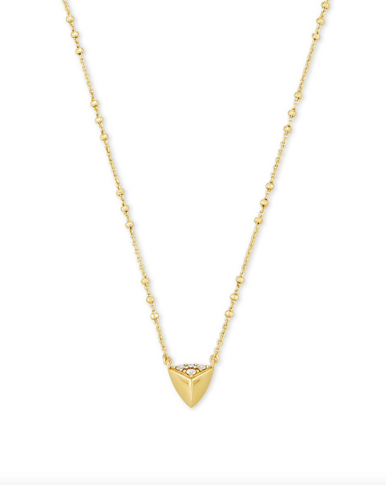 Perry Short Pendant Necklace | Multiple Colors