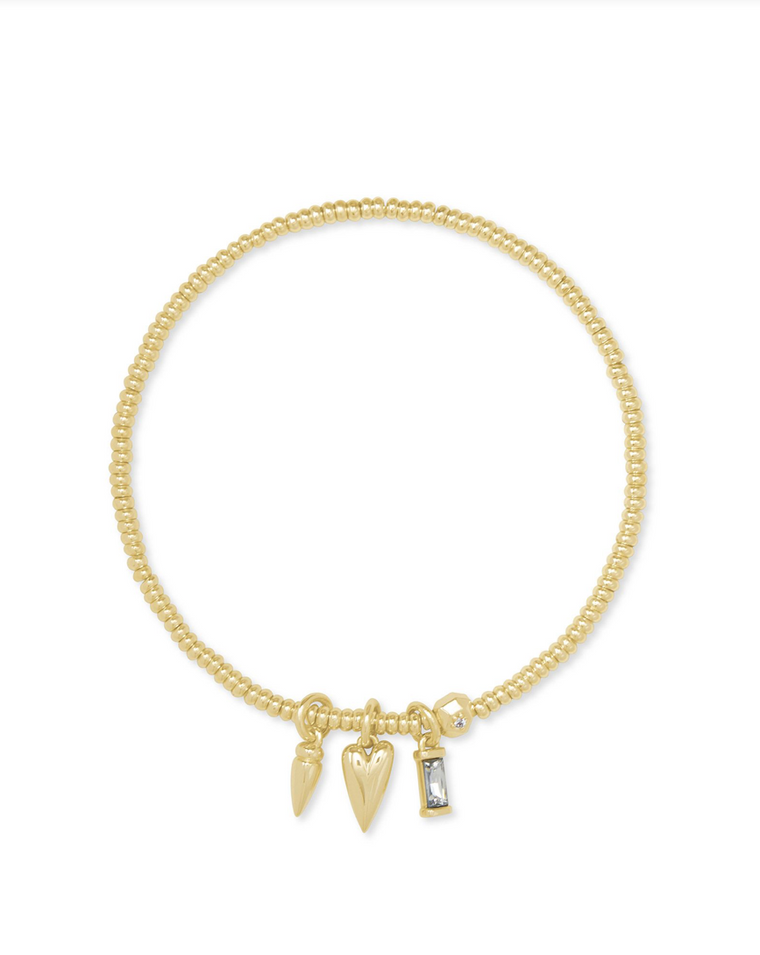 Zoey Stretch Charm Bracelet | Multiple Colors