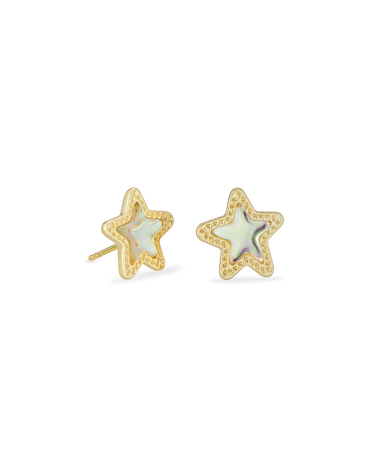 Jae Star Dichroic Earrings