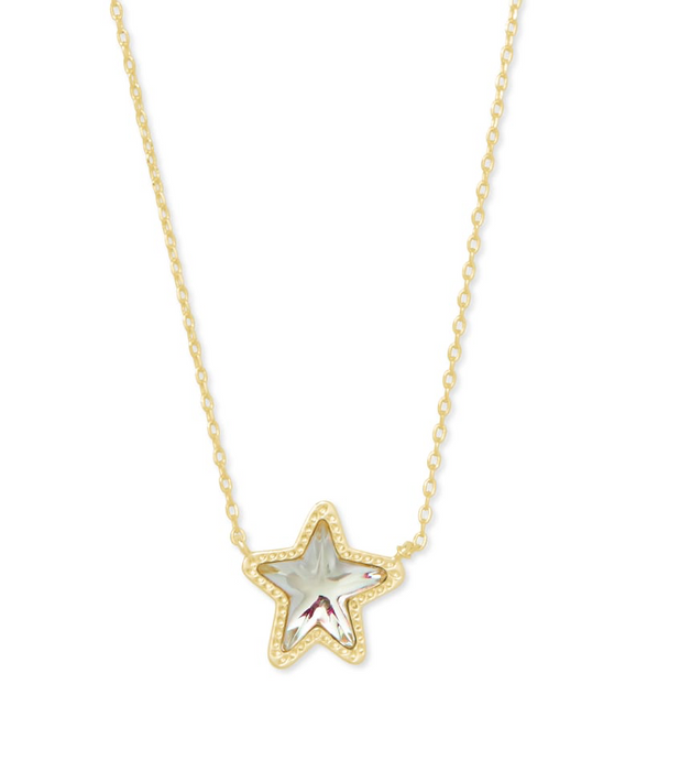 Jae Star Dichroic Necklace
