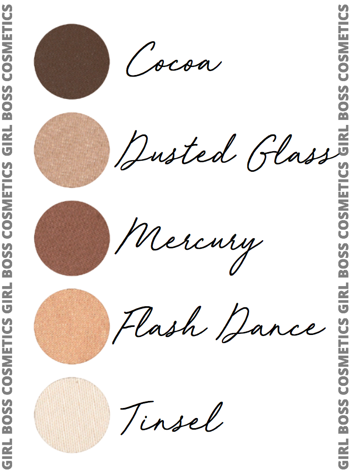 GLAMAZON | GIRL BOSS EYESHADOW PALETTE