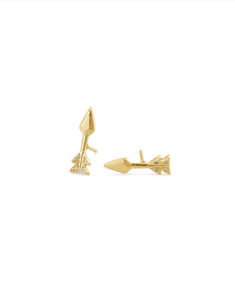 Zoey Arrow Stud Earring | Multiple Colors