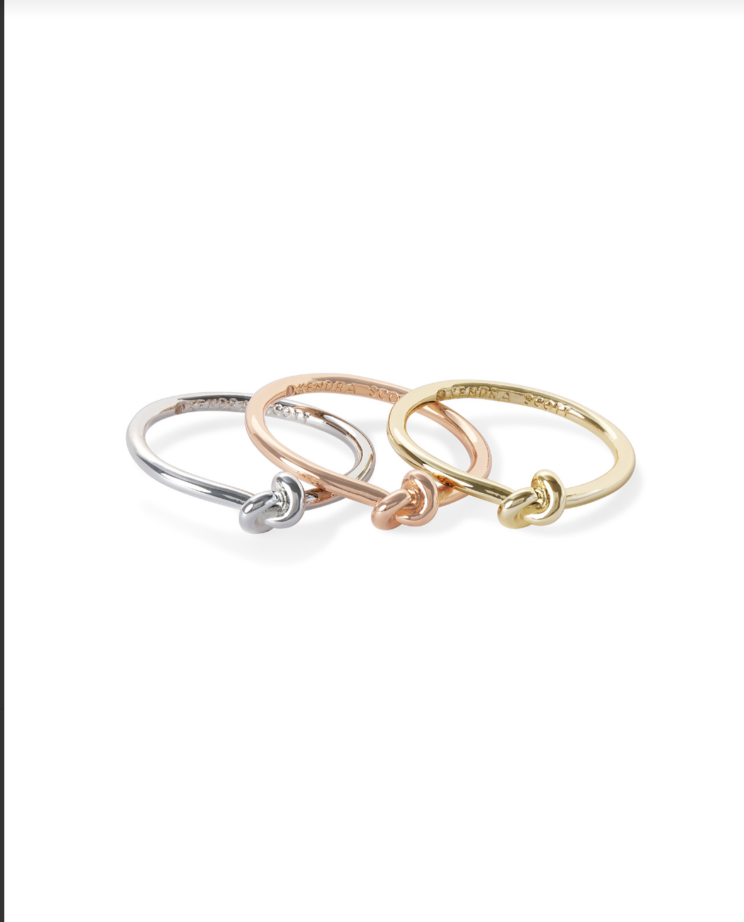 Presleigh Knot Ring Set