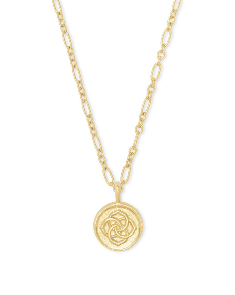 Dira Coin Pendant Necklace | Multiple Colors