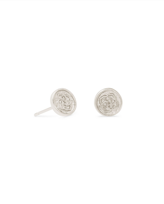 Dira Coin Stud Earring | Multiple Colors