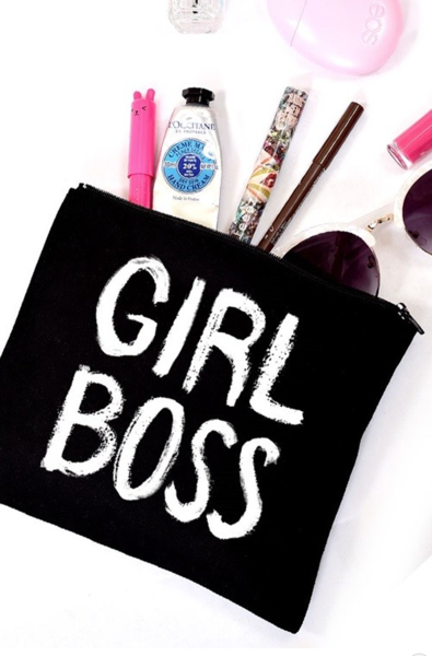 Girl Boss Cosmetics Bag