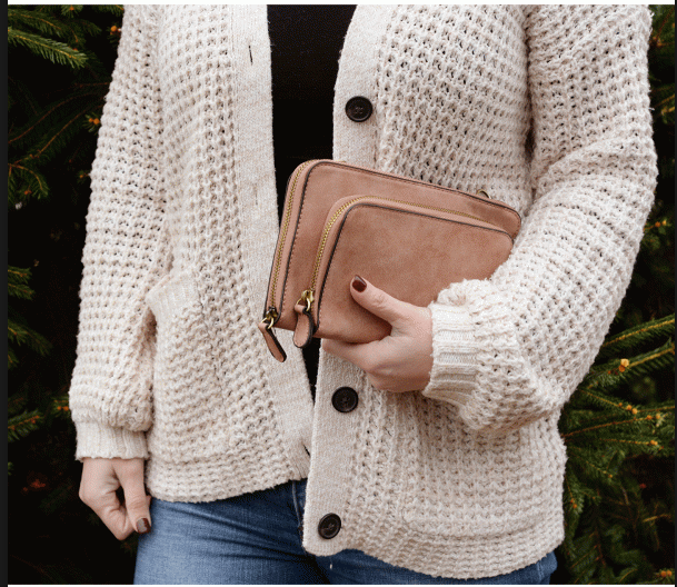 Mini Convertible Zip Around Crossbody | Joy Susan