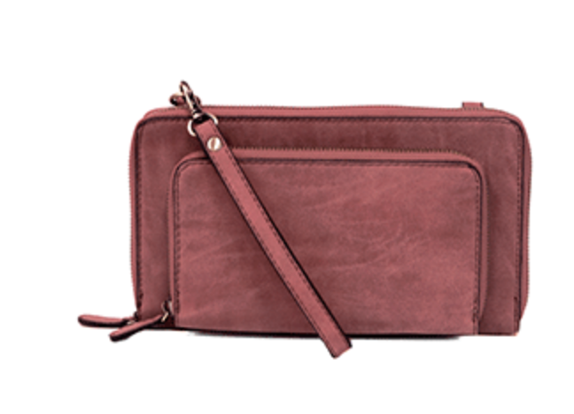 Mini Convertible Zip Around Wristley + Crossbody | Joy Susan
