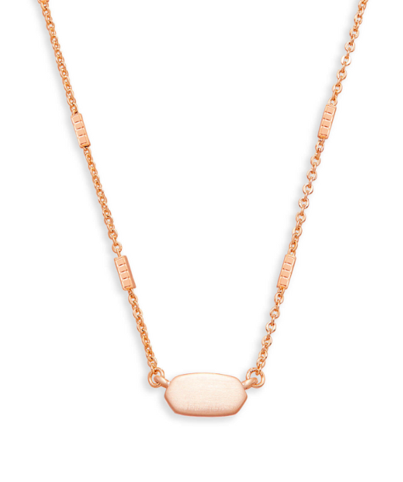 Fern Pendent Necklace | Multiple Colors