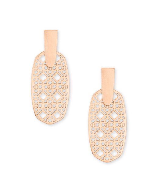 Aragon Drop Earrings in Filagree | Multiple Colors