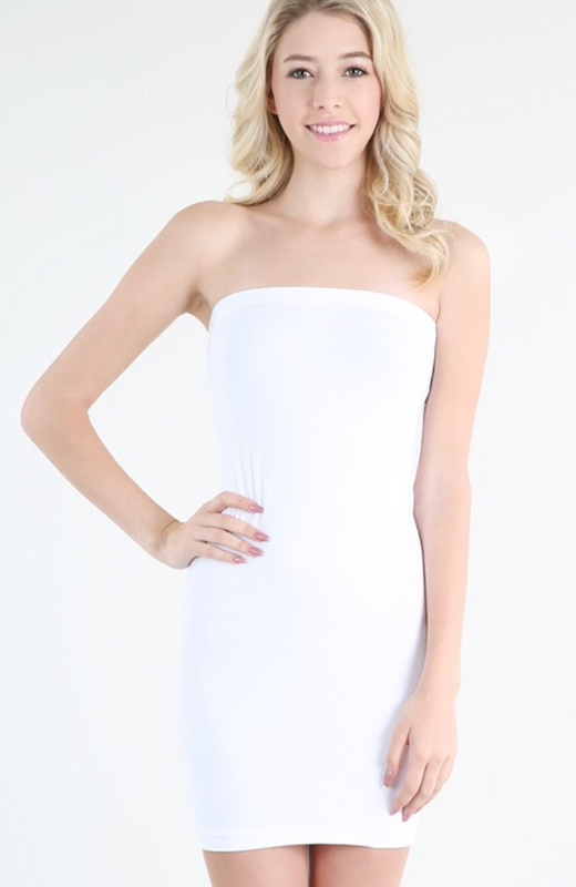 Seamless Tube Dress Tank | NIKIBIKI Brand