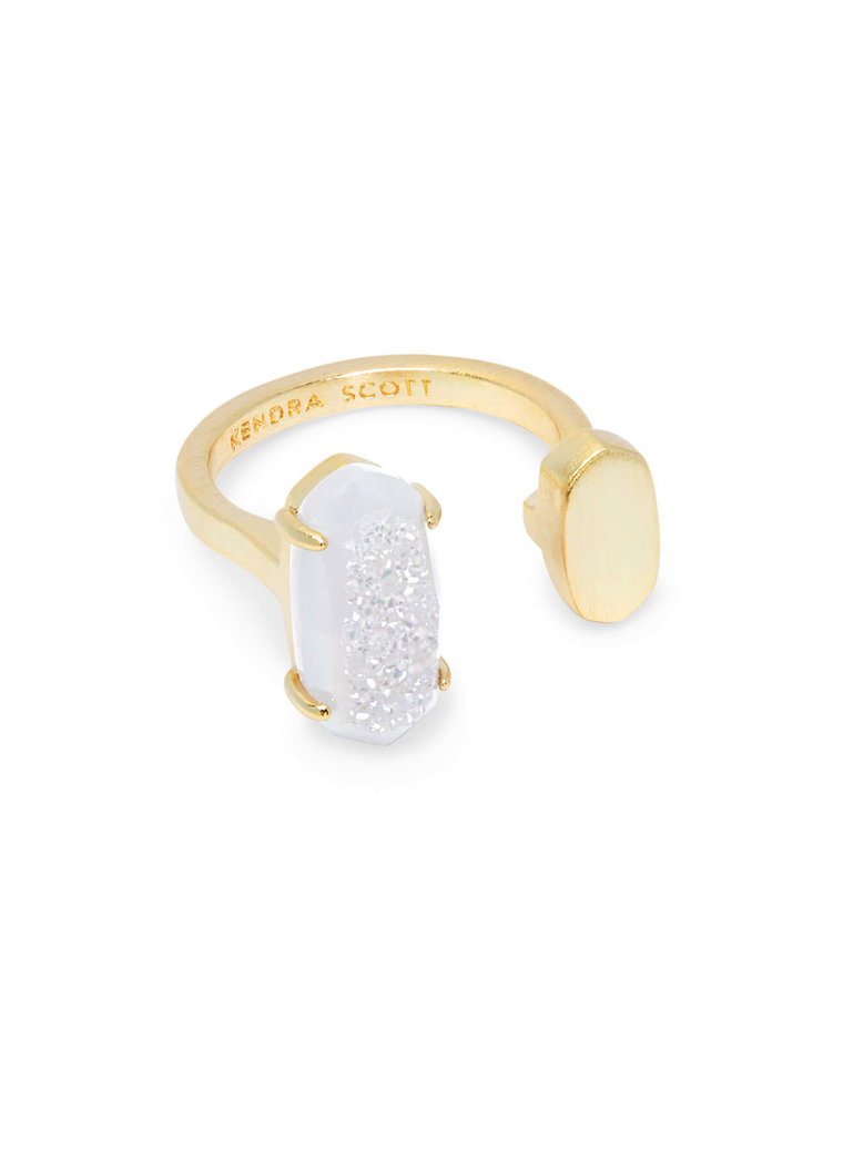 Pryde Adjustable Ring in Drusy | Multiple Colors