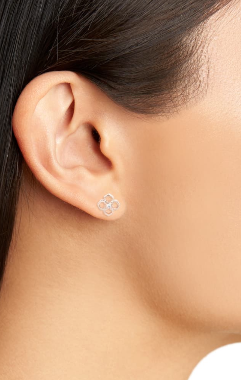 Rue Stud Earring | Multiple Colors