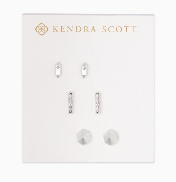 Austin Stud Earring Set | Multiple Colors