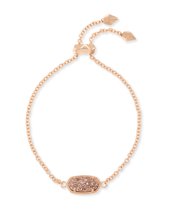 Elaina Adjustable Bracelet in Drusy | Multiple Colors