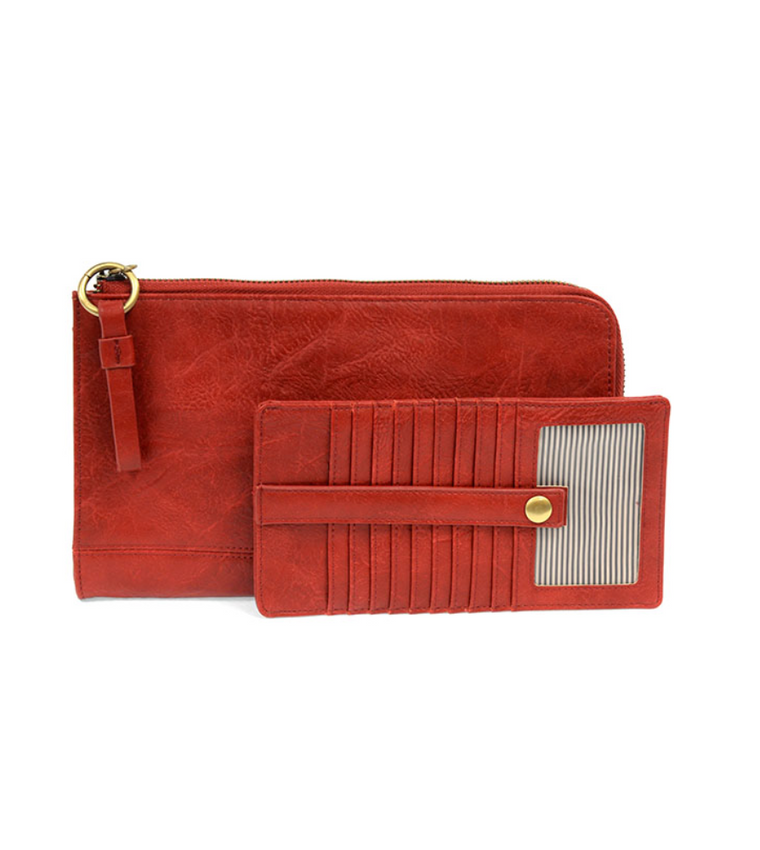Karina Convertible Wristlet & Wallet | Multiple Colors