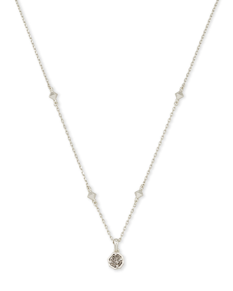 Nola Short Pendant Drusy Necklace | Multiple Colors