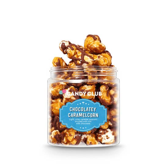 Chocolatey Caramelcorn  Popcorn | Candy Club