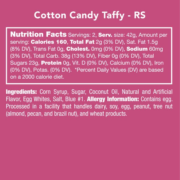 Cotton Candy Taffy  | Candy Club